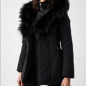 Mackage Akiva Black fur XS